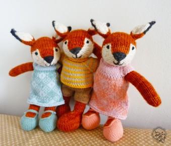 Fratrie de renards